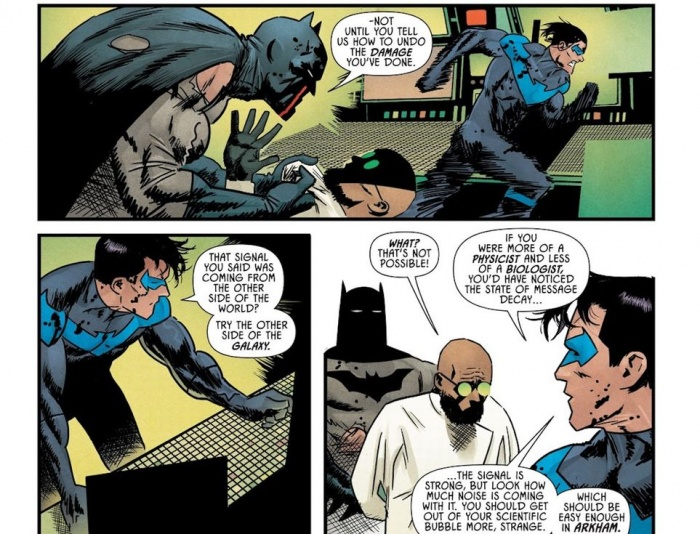 batman strange
