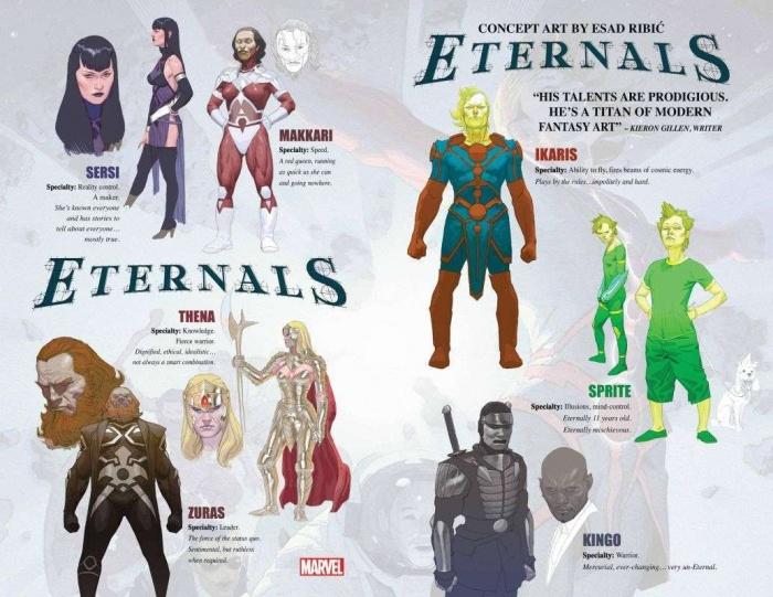 eternals concept art spread 1247488