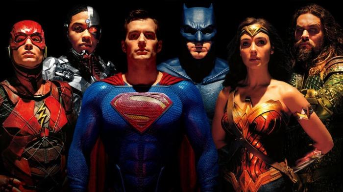 personajes de justice league dceu