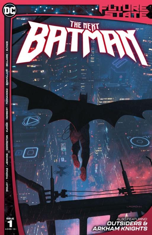Batman Future State Portada