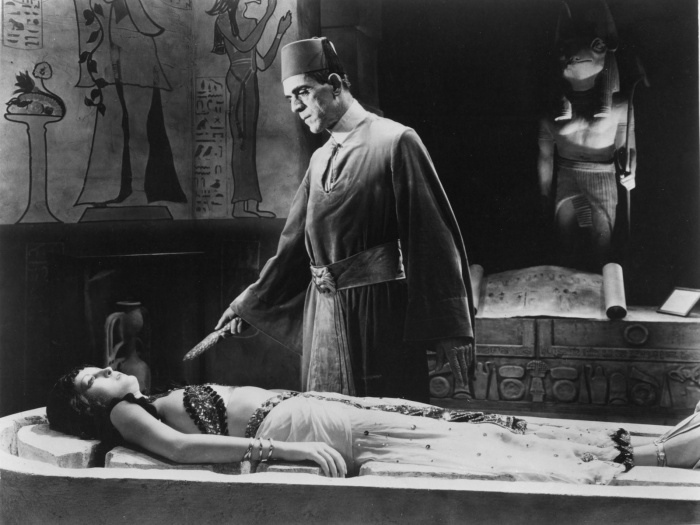 Boris Karloff The Mummy Zita Johann Karl