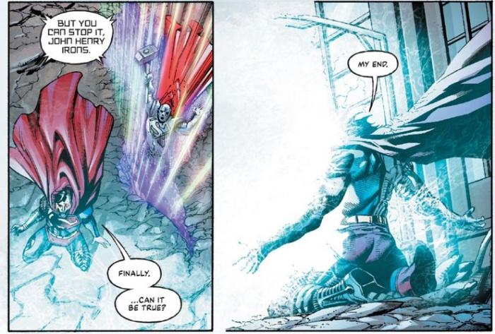 Cyborg Superman resignation