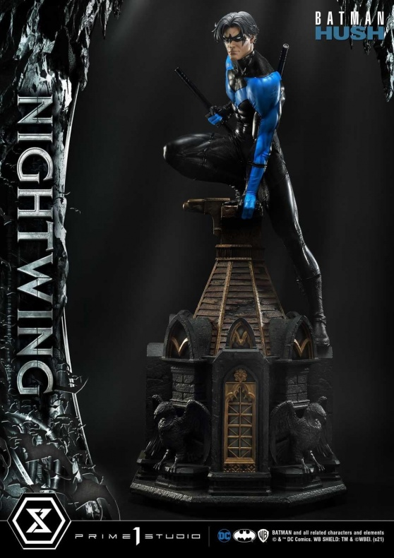 Hush Nightwing Statue 016