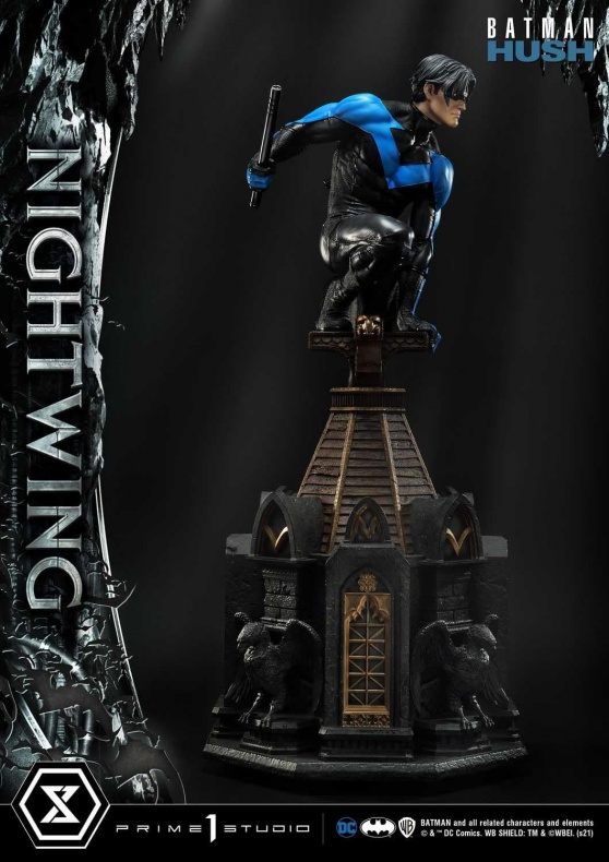 Hush Nightwing Statue 019