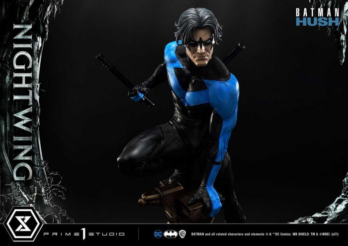 Hush Nightwing Statue 027