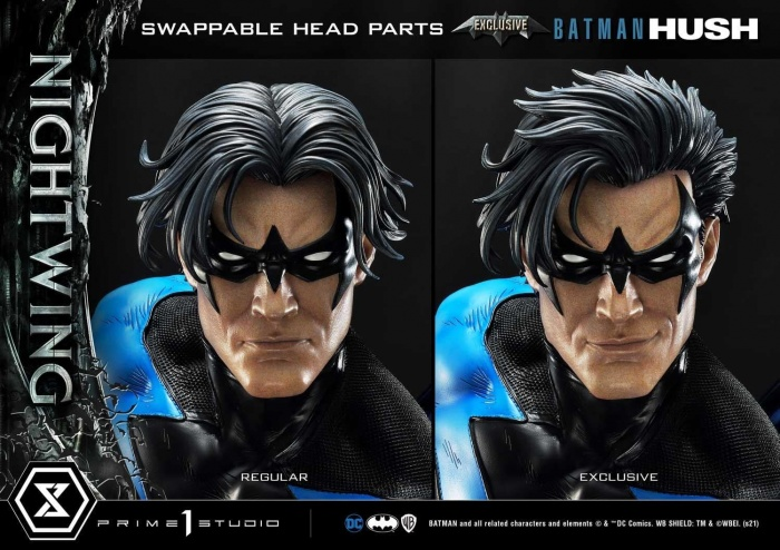 Hush Nightwing Statue 049
