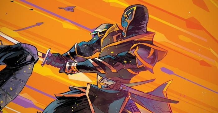 New Ronin in Hawkeye Freefall Comic