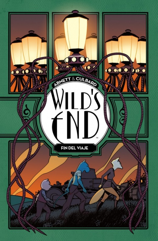 Wilds End vol 3 Portada