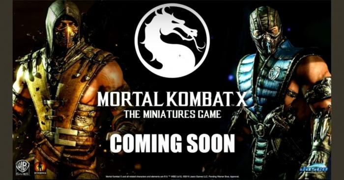 mortal kombat the miniatures game