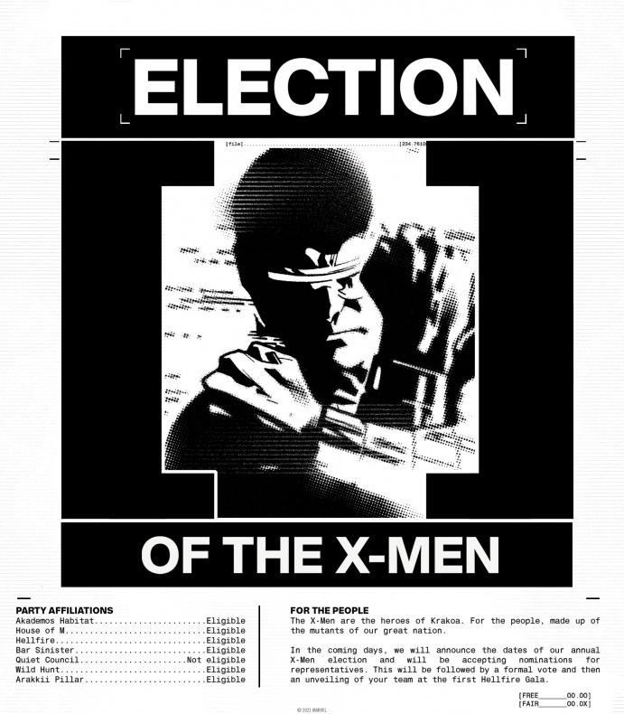 vote X Men