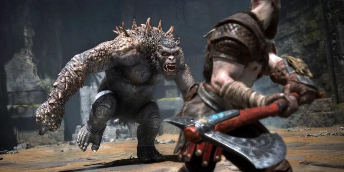 God of War Boss Fight
