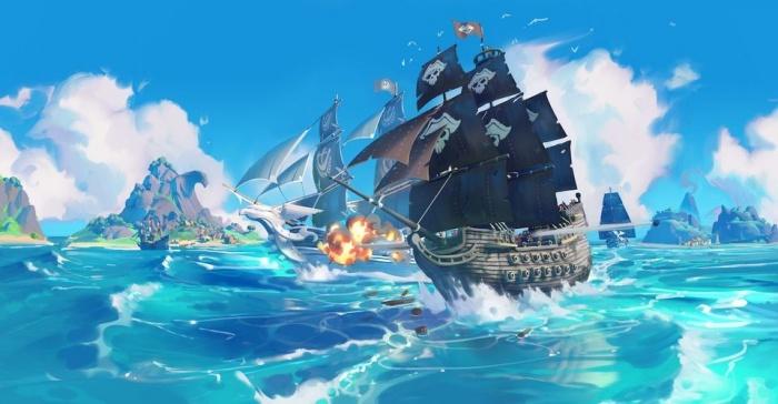 King of seas art 1
