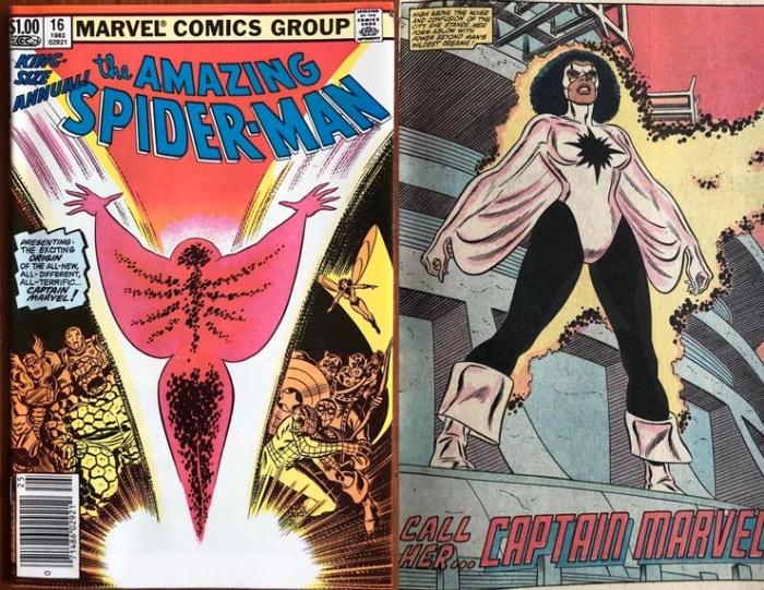 Monica Rambeau in The Amazing Spider Man