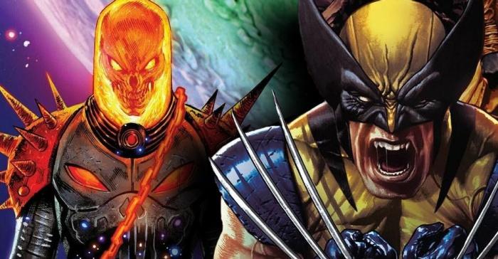 Wolverine Cosmic Ghost RIder
