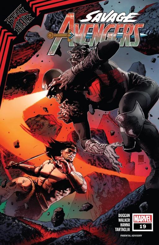 Conan - King in Black - Salvajes Vengadores