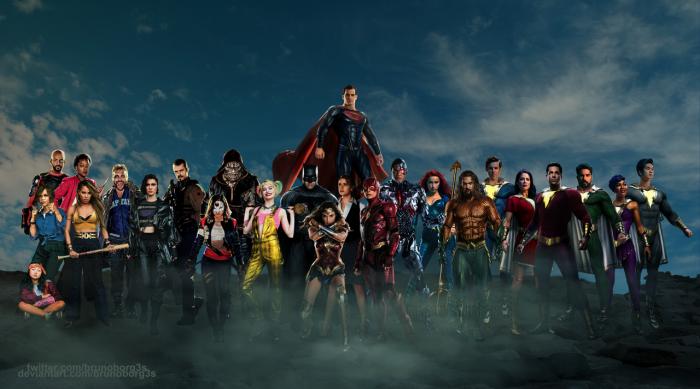 DCEU Presente y futuro del universo cinematográfico extendido de DC