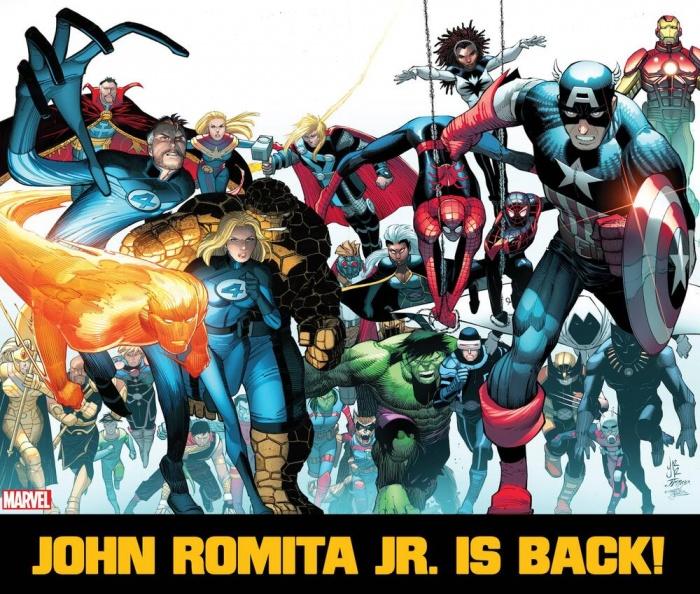 John Romita Jr.-Marvel-Comics