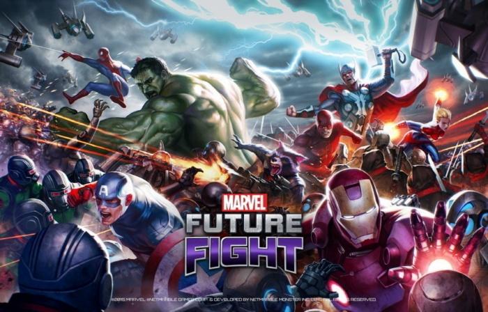 Marvel Future Fight - Netflix - Canon