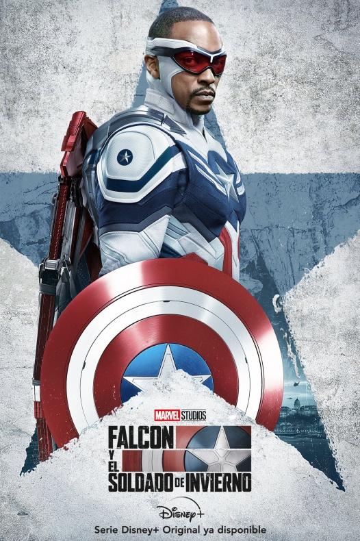 Capitán América - Falcon y el Soldado de Invierno - Sam Wilson - UCM