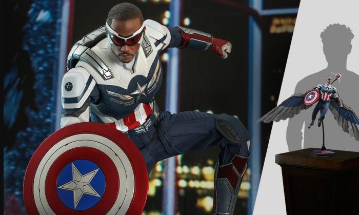 Sam Wilson - Falcon y el Soldado de Invierno - Hot Toys - Capitán América - Disney+