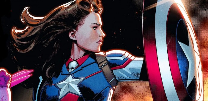 8 Capitanas América en Marvel Comics 000