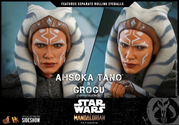 Ahsoka Tano Baby Yoda Grogu Hot Toys Star Wars 008