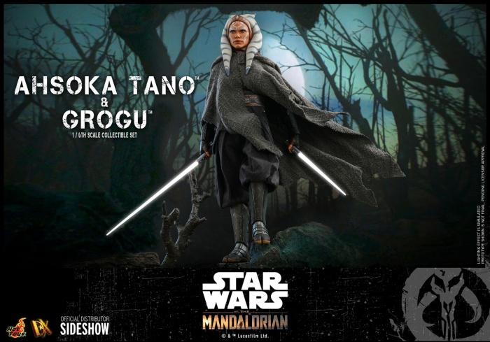 Ahsoka Tano Baby Yoda Grogu Hot Toys Star Wars 009