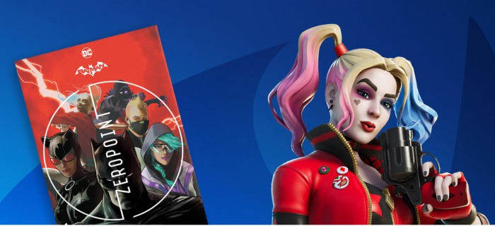 Batman - Fortnite - Punto Cero - Harley Quinn - Dc Comics - Epic Games - 000 (1)