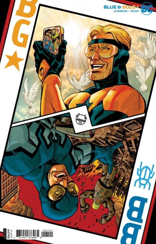 Blue Beetle - Booster Gold - Blue & Gold - DC Comics - Serie limitada - Noticia Cómics - (1)
