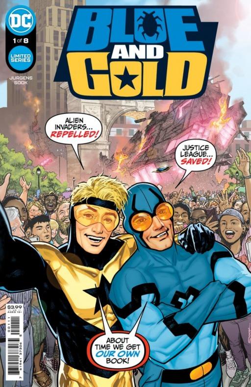 Blue Beetle - Booster Gold - Blue & Gold - DC Comics - Serie limitada - Noticia Cómics - (3)