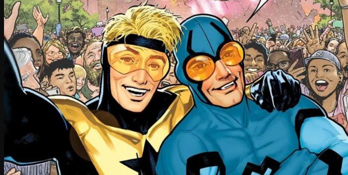 Blue Beetle - Booster Gold - Blue & Gold - DC Comics - Serie limitada - Noticia Cómics - (5)
