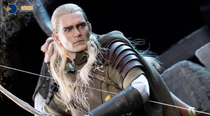 Asmus Toys -El señor de los anillos - Legolas - figura articulada