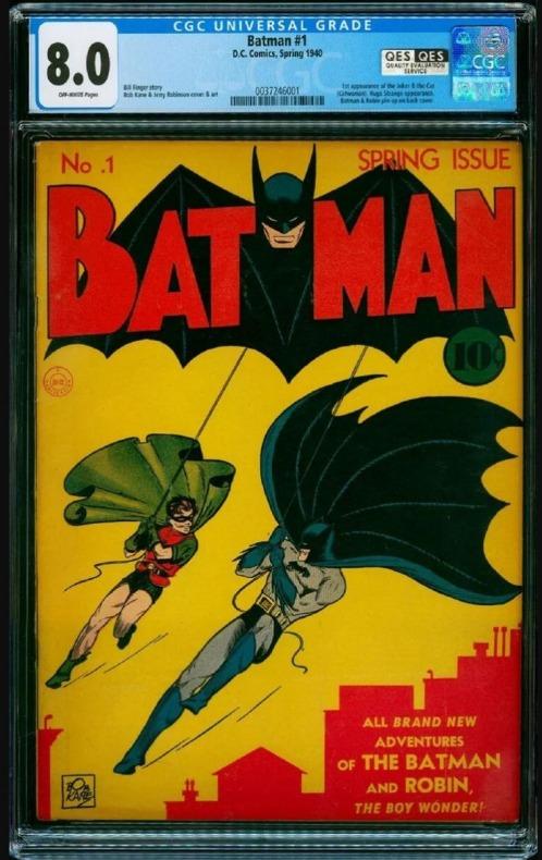 Batman 1 1939 1,2 millones de dólares 002