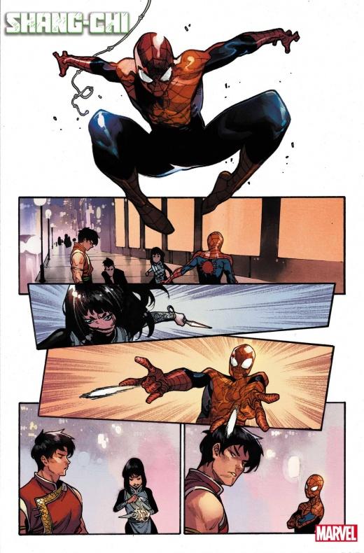 Shang Chi - Spiderman- Marvel comics. Noticia cómics - 004