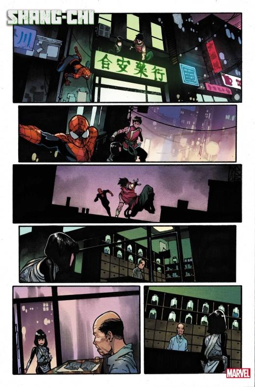 Shang Chi - Spiderman- Marvel comics. Noticia cómics - 005