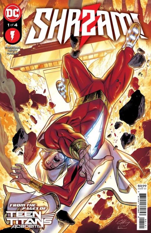 Shazam - Shazam! -nueva miniserie 2021 - Tim Sheridan, Clayton Henry - Marcelo Maiolo - Noticia Cómics - 002