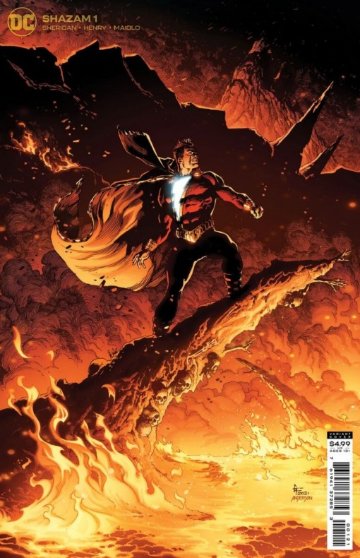 SShazam -Shazam - Shazam! -nueva miniserie 2021 - Tim Sheridan, Clayton Henry - Marcelo Maiolo - Noticia Cómics - 003