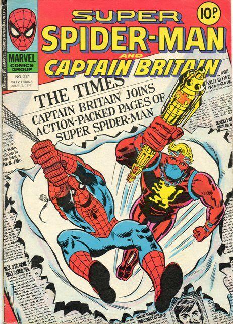 Super Spider Man Captain Britain