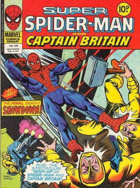 Super Spider Man Captain Britain Vol 1 248 1