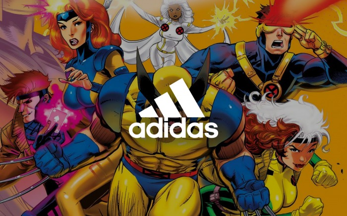Marvel - Adidas - X-Men