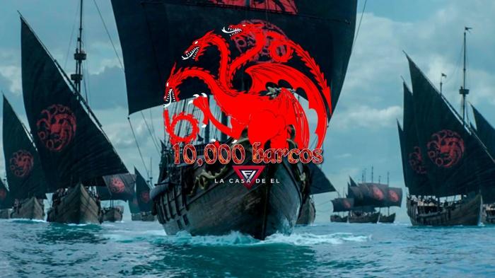 10.000 barcos- Juego de Tronos