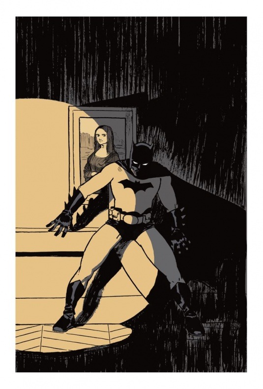 Paco Roca - Batman