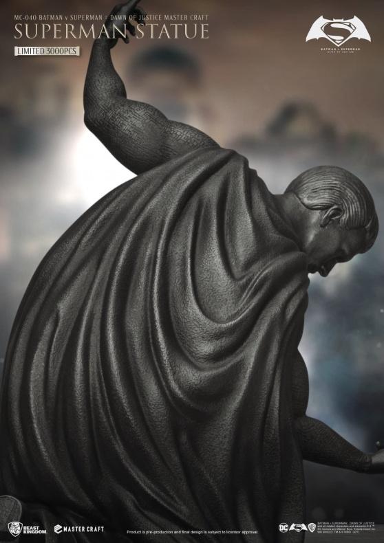 BvS - Superman - Beast Kingdom - estatua conmemorativa
