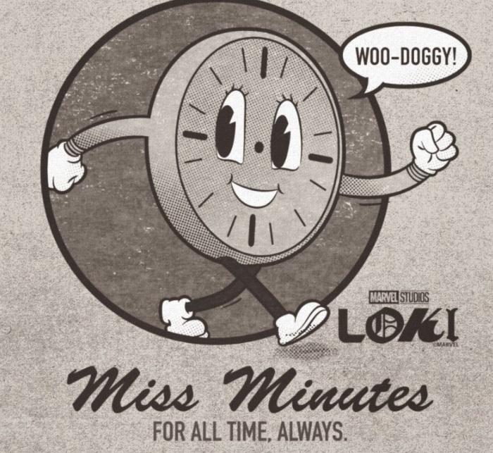 Miss Minutes - Loki - Disney +