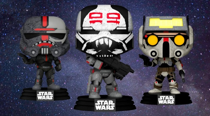 La remesa mala - The Bad Batch - Star Wars - Funko Pop!
