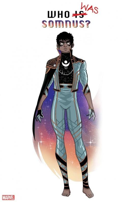 Somnus - LGBTQ + - Marvel Comics - Marvel's Voices