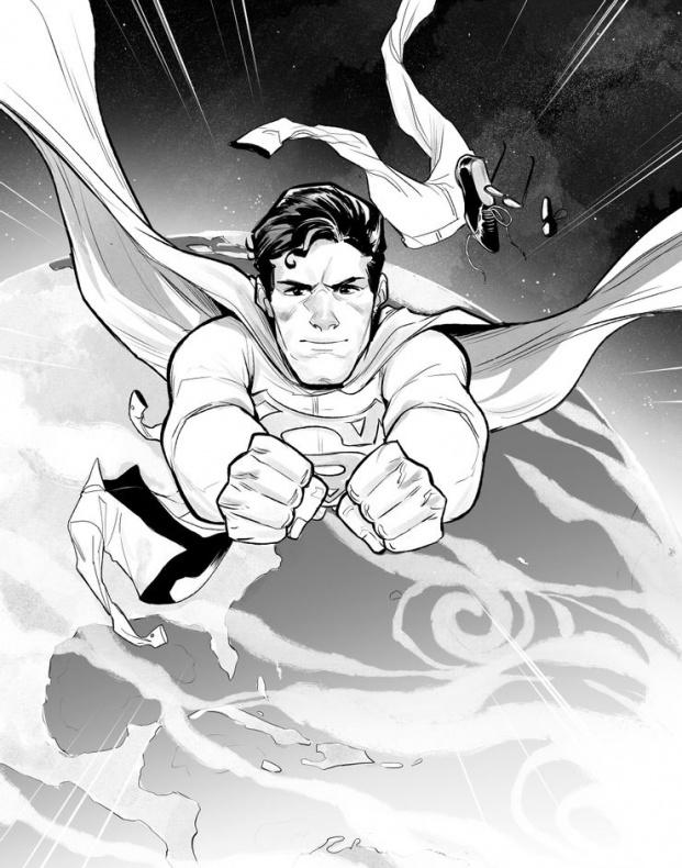 SMvsLOBO Superman by Mirka Andolfo 1