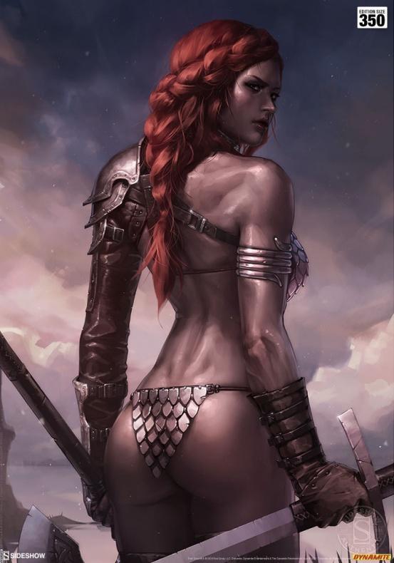 Red Sonja - Hannah John-Kamen