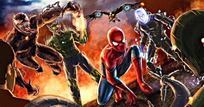 Los 6 Siniestros - Spiderman
