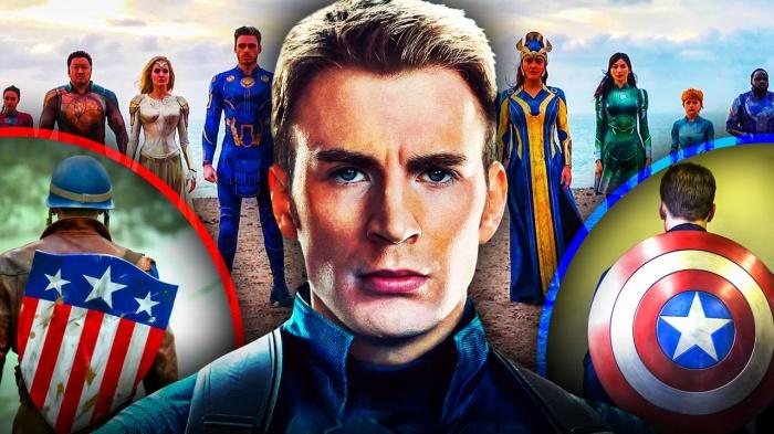 Eternals - Capitán América